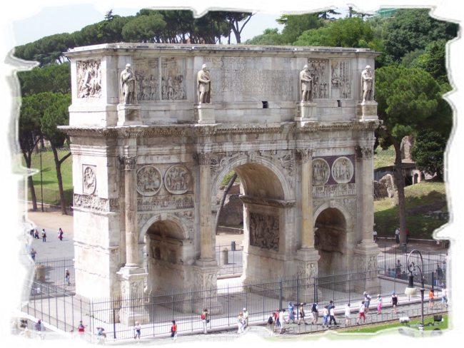 Арка Константина в Риме
