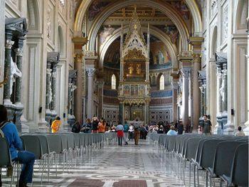 Латеранская базилика (центральный неф)