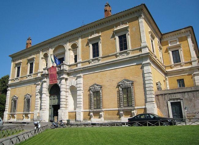 Национальный музей этрусского искусства - Вилла Джулия - Фасад