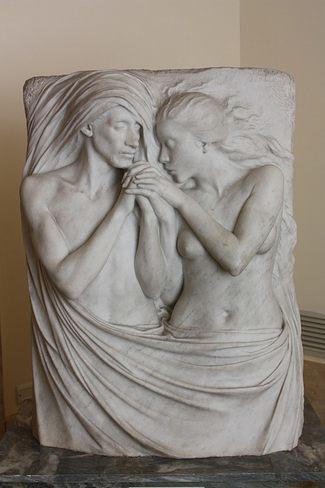 Поль-Альбер Бартоломе. Воссоединенные. (1891-1899) - Галерея современного искусства.