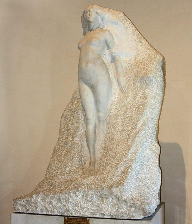 Леонардо Бистольфи. Посвящение Сегантини. 1906 - Галерея современного искусства.