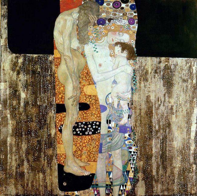 Густав Климт. Три возраста. 1905 - Галерея современного искусства.