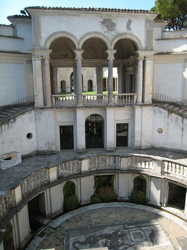 Национальный музей этрусского искусства - Вилла Джулия - Вид сверху