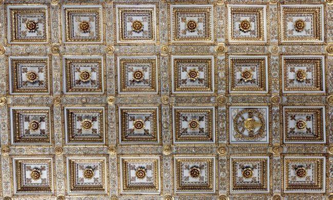 Потолок - Базилика Санта Мария Маджоре