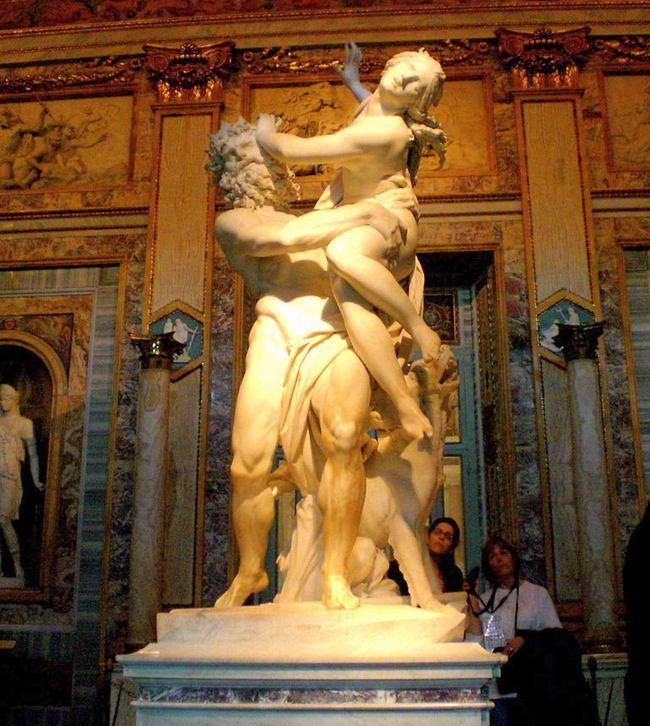 Похищение Прозерпины -  Бернини - галерея Боргезе