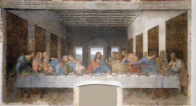 Леонардо - Тайная вечеря (Санта Мария деле Грацие) - Амброзианская пинакотека