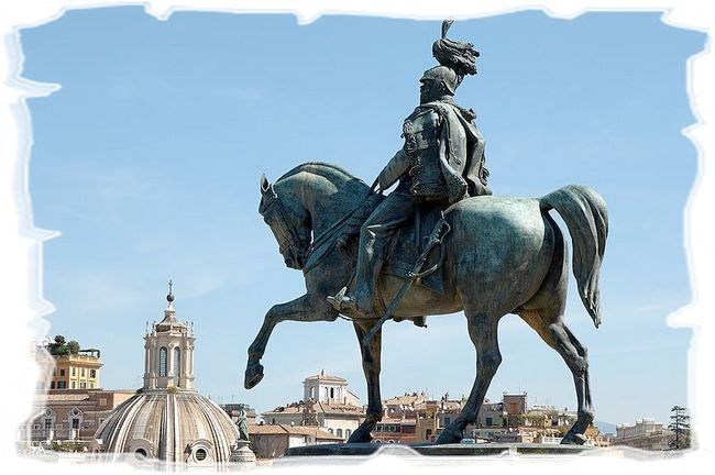 Витториано — Памятник Виктору Эммануилу II