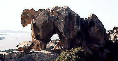 Скала Капо-Д'Орсо в Галлуре - остров Сардиния