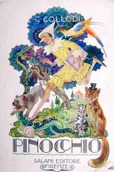 Иллюстрация к Пиноккио