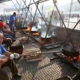 Каштаны на любой вкус на фестивале каштанов в Кунео