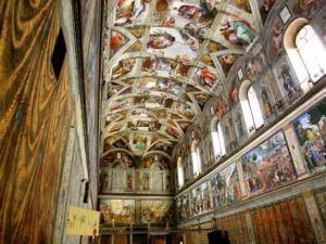 Сикстинская капелла: шедевру Микеланджело 500 лет