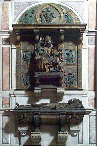 Надгробие Иннокентия VIII - Антонио Поллайоло