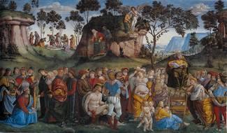 Смерть и завещание Моисея - Синьорелли