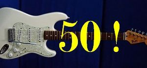Fender: пятидесятилетний юбилей легенды рока