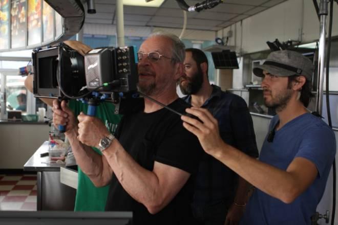 Ларри Кларк во время съёмки фильма