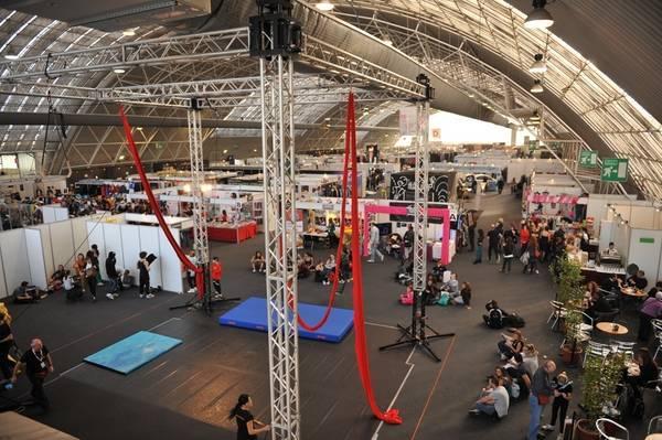 MilanoDanza Expo павильон на 5000 квадратных метров