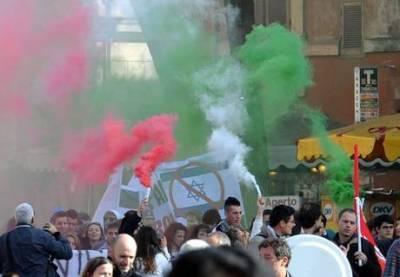 День маршей протеста в Риме