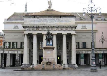 Театр Carlo Felice в Генуе