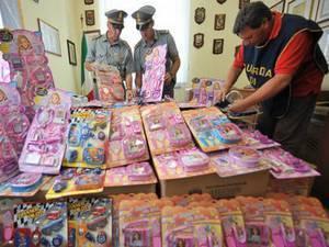 Изъято 300 000 опасных китайских игрушек