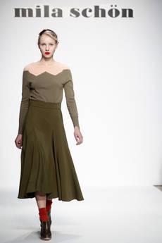 Зелёный и бордо снова в моде в коллекции осень-зима 2012-2013