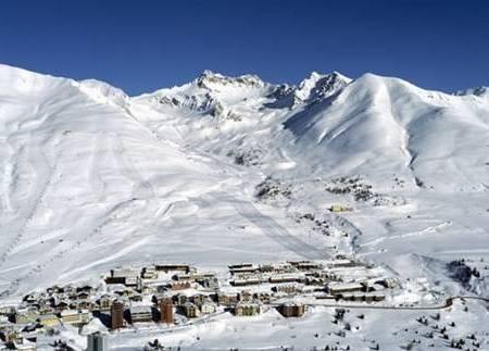 Открытие горнолыжного сезона. Панорама Пассо Тонале