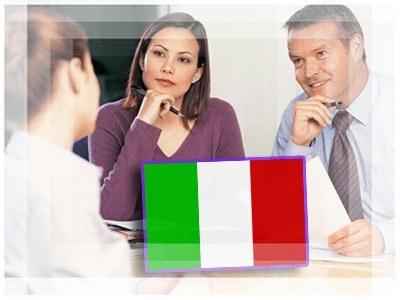Работа в Италии