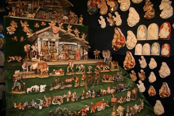 Сувениры на Рождественской ярмарке в Больцано