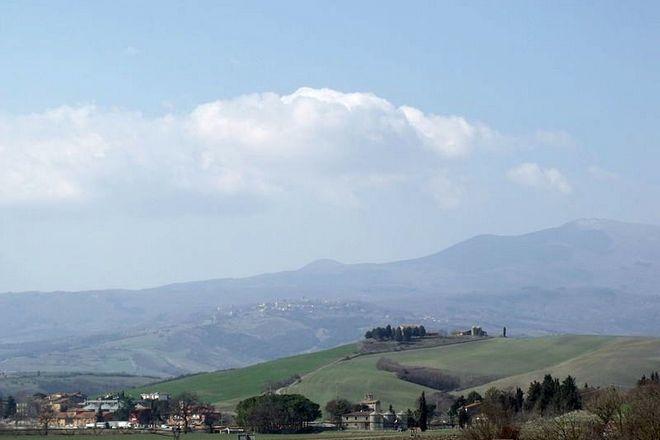 Вид на гору Амиата