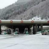 Непогода: тоннель в районе Монблана закрыт для грузовиков