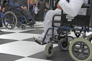 Папа Римский выступает за права инвалидов