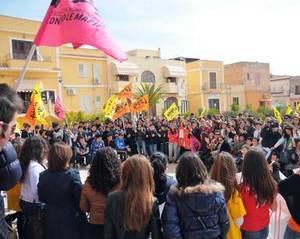 Всеобщая забастовка в Лампедузе