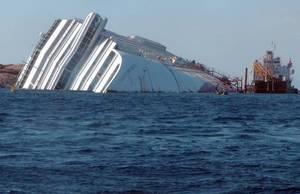 Concordia и в этом году будет лежать в воде