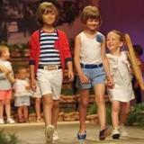 Модный показ детской одежды во Флоренции