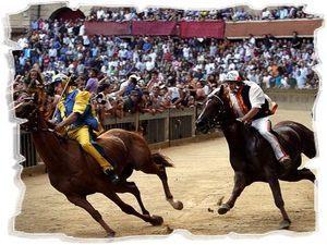 Сиенское конное Палио