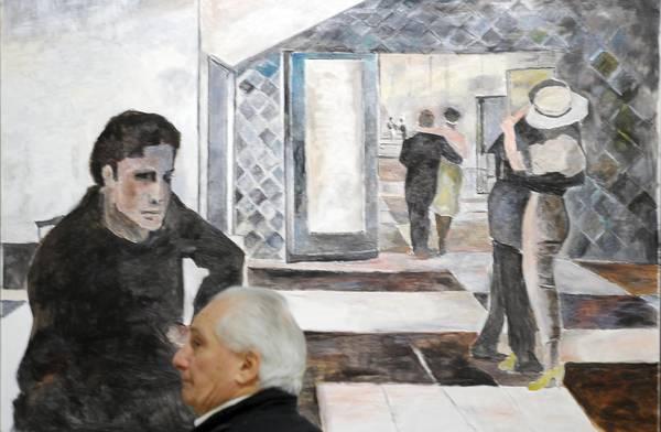 Новый Орлеан - Выставка картин Боба Дилана в Милане
