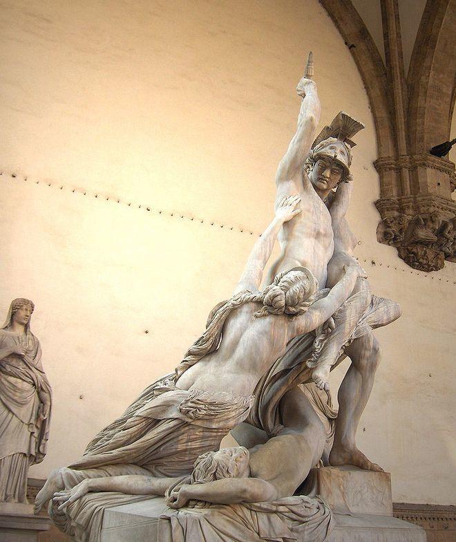 Пио Феди - Похищение Поликсены - 1860-1865