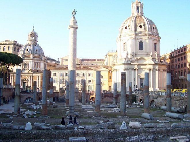 Форум Траяна сегодня
