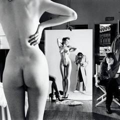 Хельмут Ньютон - фотосессия для журнала Vogue