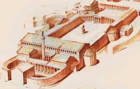 Модель Форума Траяна