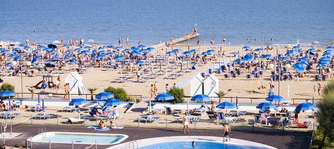 Пляж в Лидо-ди-Езоло