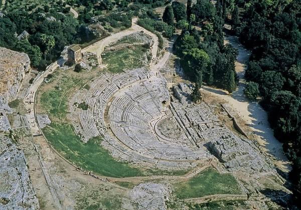 Древний театр в Сиракузах