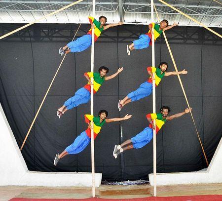Фестиваль циркового искусства в Турине
