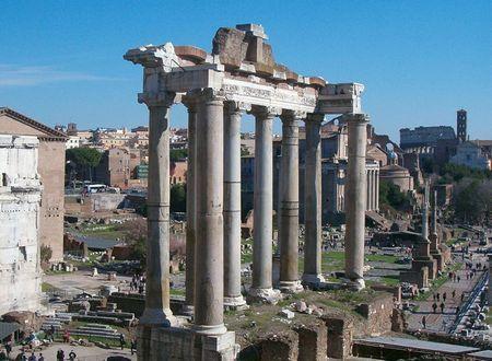 Храм Сатурна (Tempio di Saturno)
