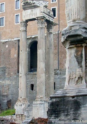 hram-vespasiana-i-tita-Tempio-di-Vespasiano