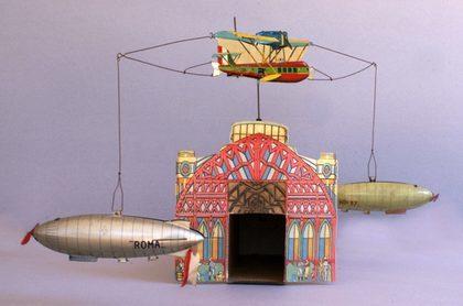Одна из игрушек Кардини - музей игрушек в Милане