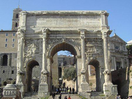 Триумфальная арка Септимия Севера (Arco di Settimio Severo)