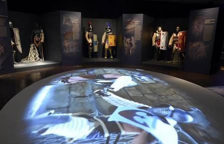 Видео гладиаторских боев в Колизее на выставке «Один день в Колизее»