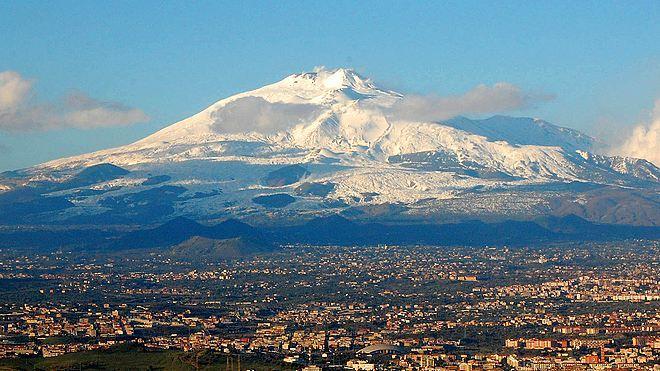 Этна - панорама