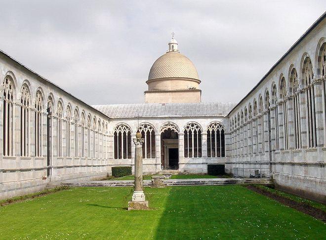 Монументальное кладбище - Пиза