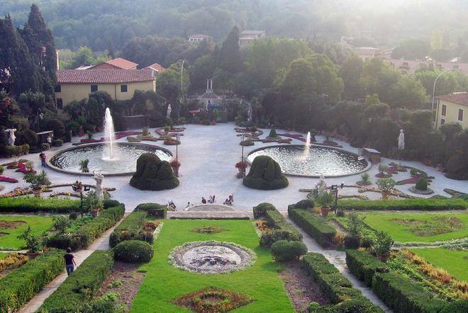 Сады виллы Гарцони